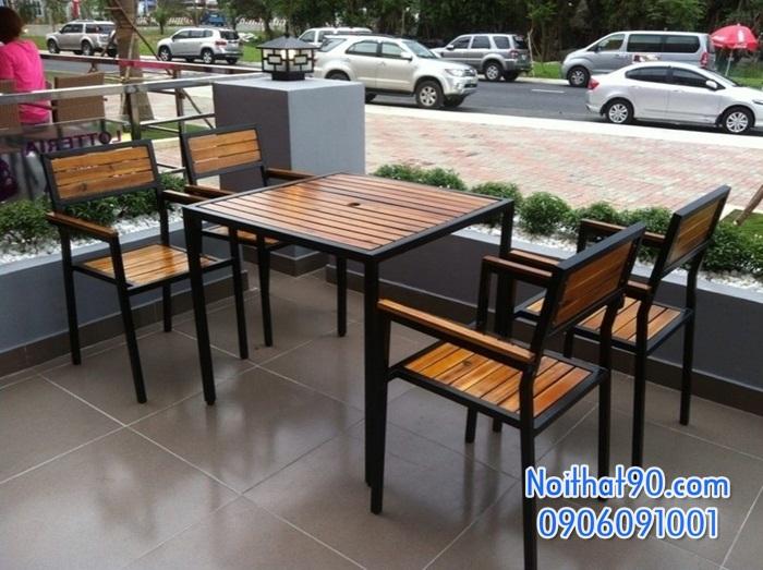 Bàn ghế bar cafe 1805