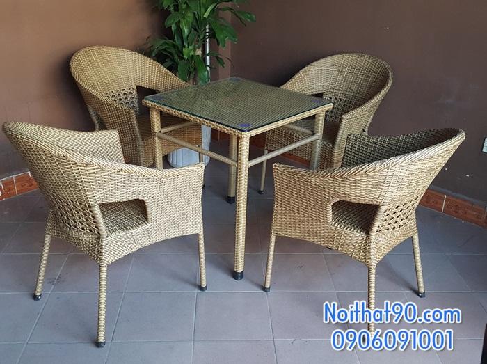 Bàn ghế cafe 140611