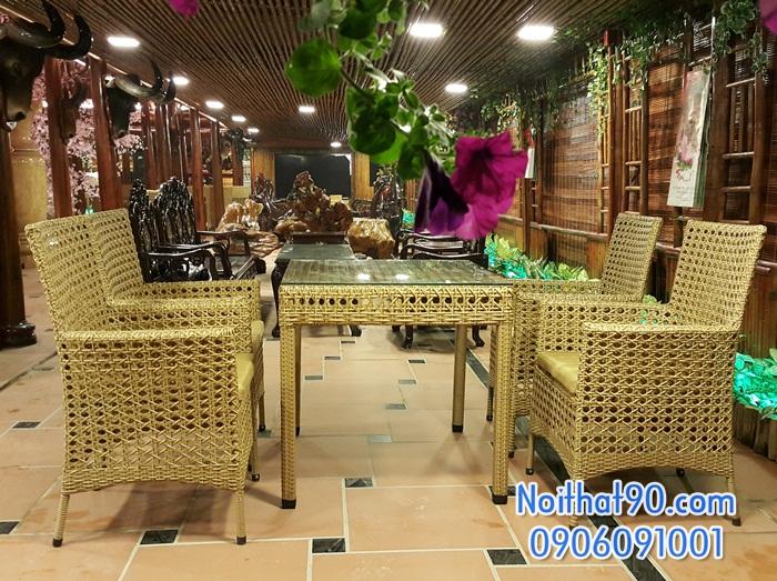 Bàn ghế cafe 3122