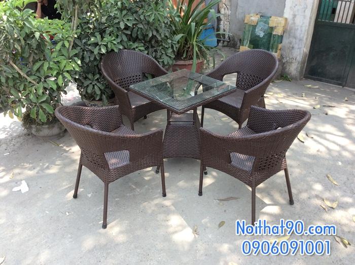 Bàn ghế cafe 3477