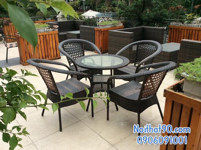 Bàn ghế cafe 3485