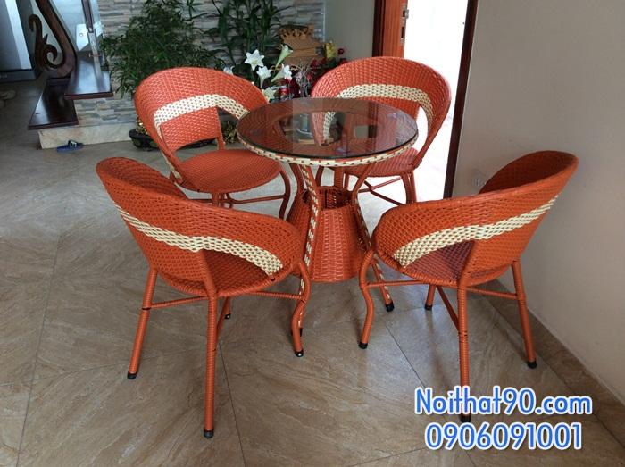 Bàn ghế cafe 3543