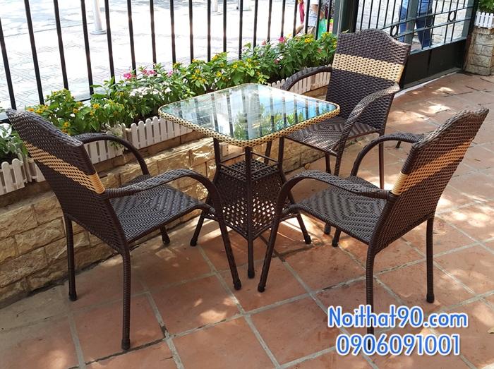 Bàn ghế cafe 3680
