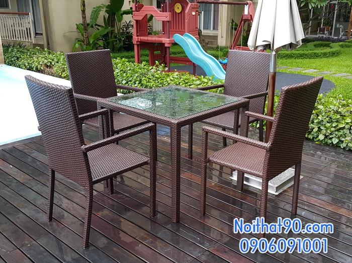 Bàn ghế cafe 3799