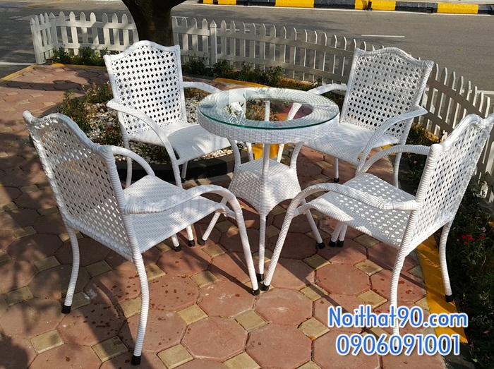 Bàn ghế cafe 3819