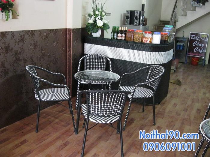Bàn ghế cafe 3825