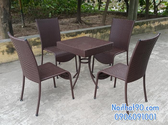 Bàn ghế cafe 4424