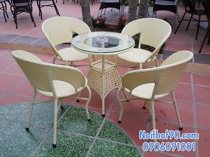Bàn ghế cafe 5526