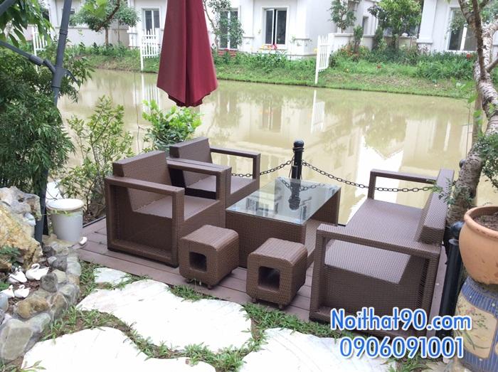 Bàn ghế cafe cf0609