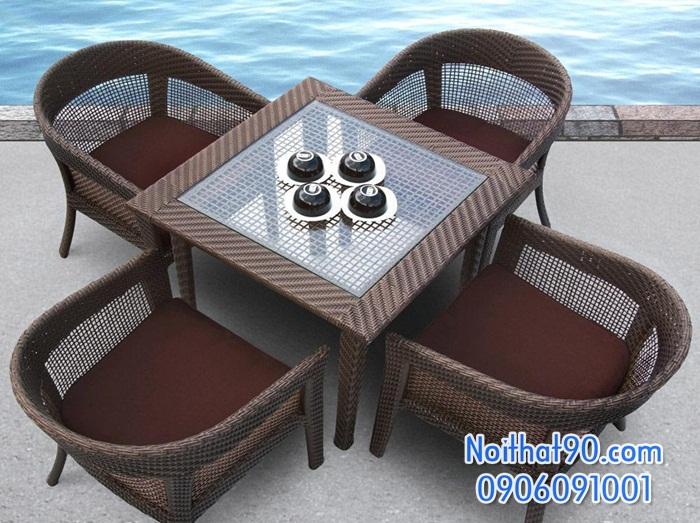 Bàn ghế cafe cf0649