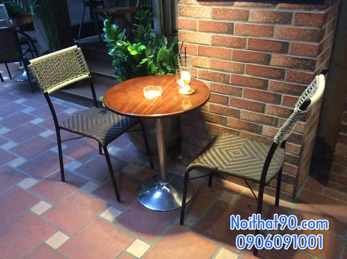 Bàn ghế cafe cf0710