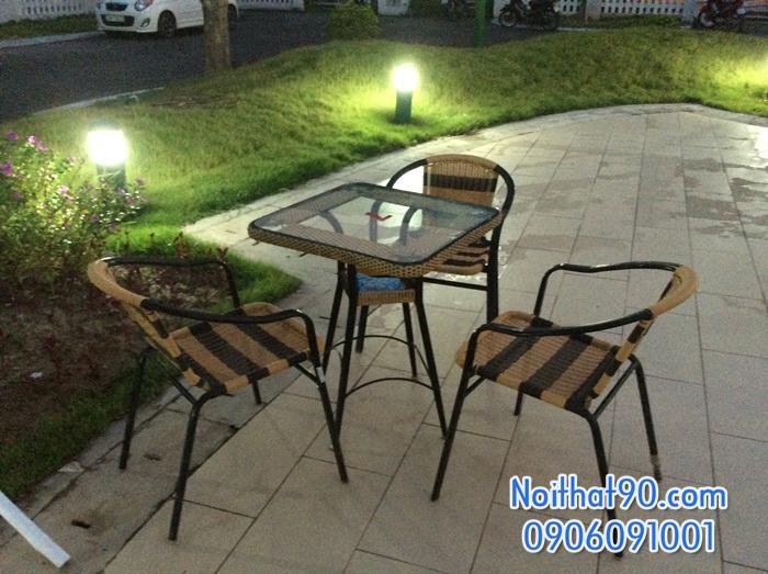 Bàn ghế cafe cf1591