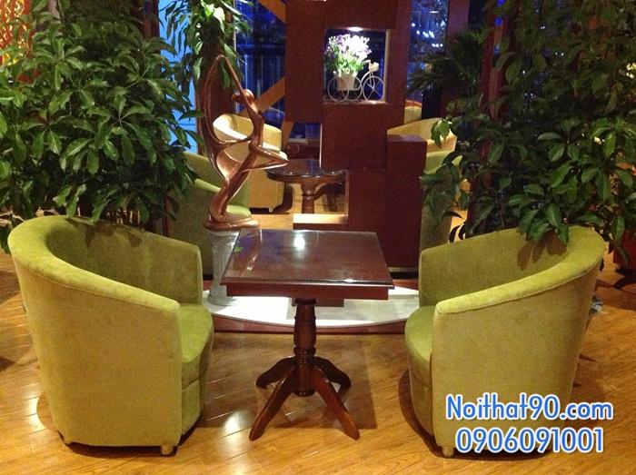 Bàn ghế gỗ 0881