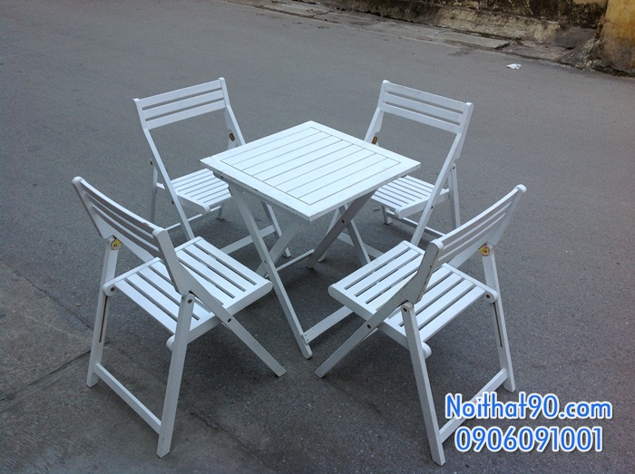 Bàn ghế gỗ 0942