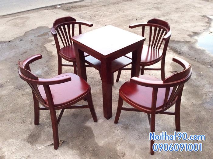 Bàn ghế gỗ 1462