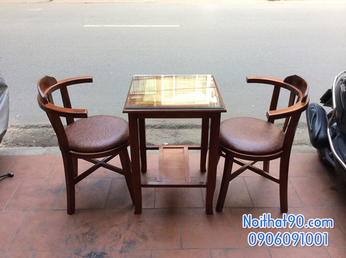 Bàn ghế gỗ 2672