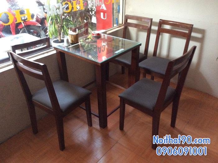 Bàn ghế gỗ 3383