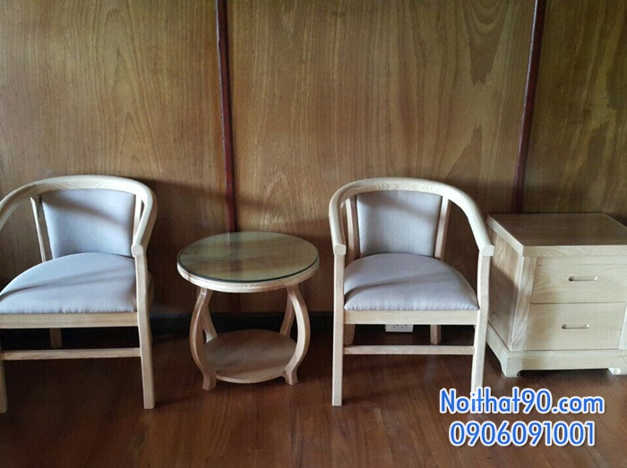 Bàn ghế gỗ 3496