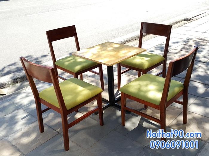 Bàn ghế gỗ 3841