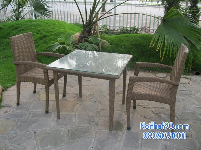Bàn ghế ngoài trời nt0703