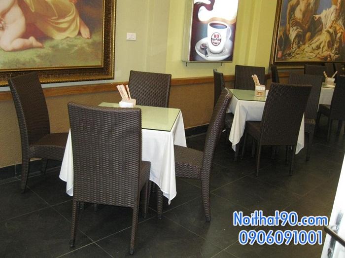 Bàn ghế nhà hàng, phòng ăn, khách sạn 0039