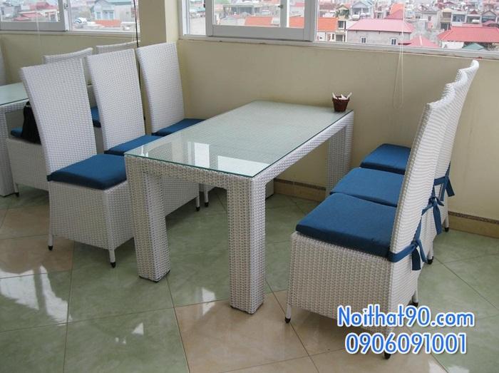 Bàn ghế nhà hàng, phòng ăn, khách sạn 0048