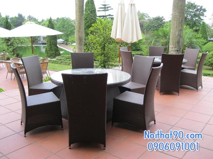 Bàn ghế nhà hàng, phòng ăn, khách sạn 0336