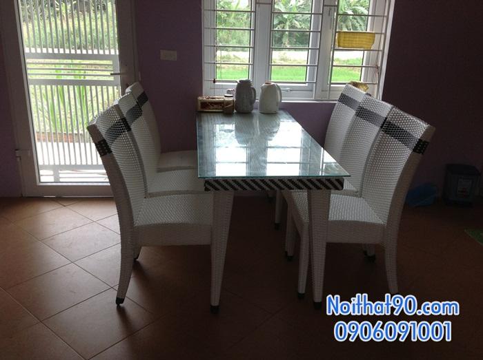 Bàn ghế nhà hàng, phòng ăn, khách sạn 0388