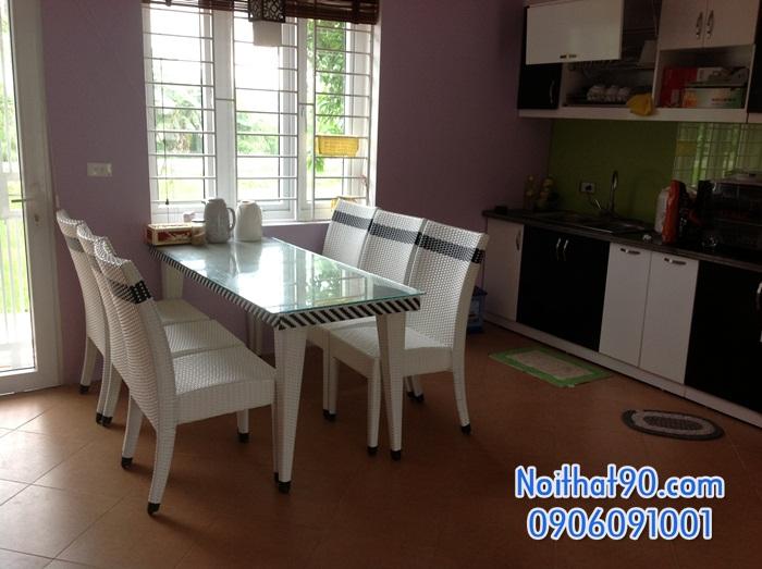 Bàn ghế nhà hàng, phòng ăn, khách sạn 0390