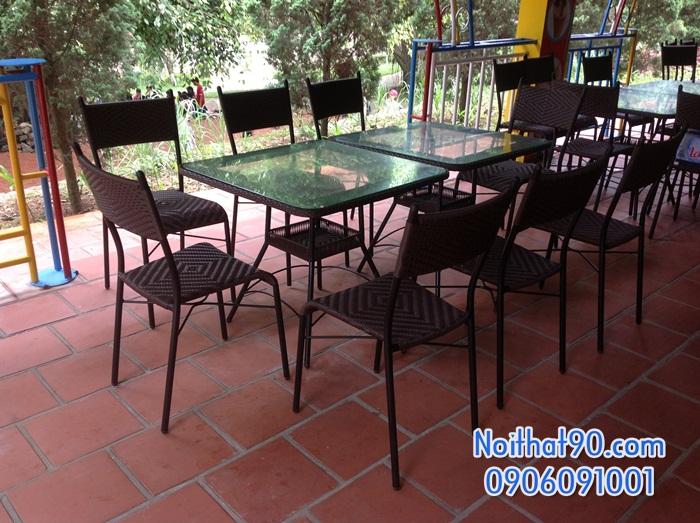 Bàn ghế nhà hàng, phòng ăn, khách sạn 0466