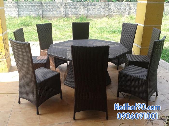 Bàn ghế nhà hàng, phòng ăn, khách sạn 0479