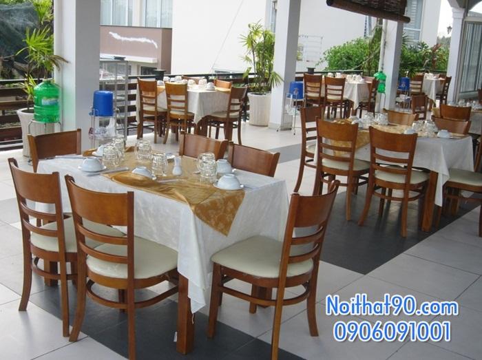 Bàn ghế nhà hàng, phòng ăn, khách sạn 0600