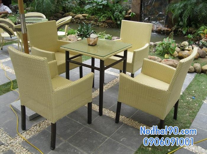 Bàn ghế nhà hàng, phòng ăn, khách sạn 0837