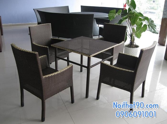 Bàn ghế nhà hàng, phòng ăn, khách sạn 0850