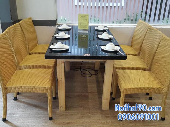 Bàn ghế nhà hàng, phòng ăn, khách sạn 1214