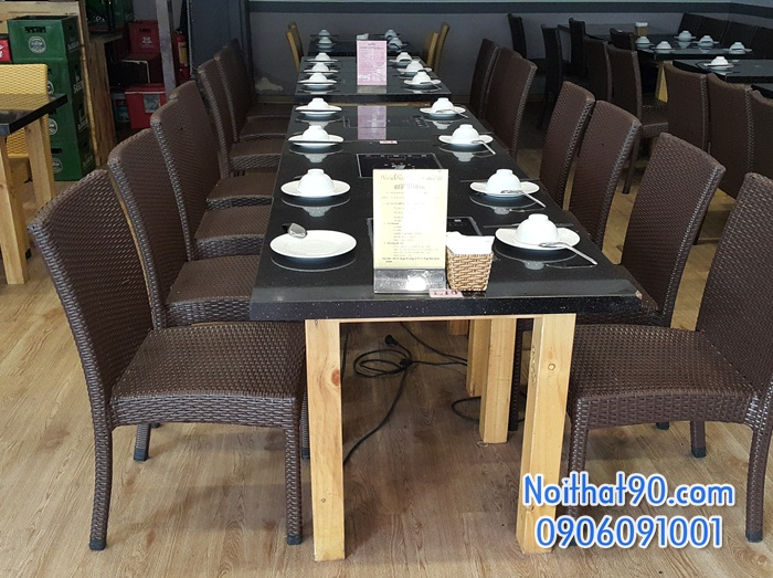 Bàn ghế nhà hàng, phòng ăn, khách sạn 1247