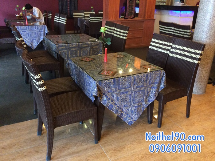 Bàn ghế nhà hàng, phòng ăn, khách sạn 1550