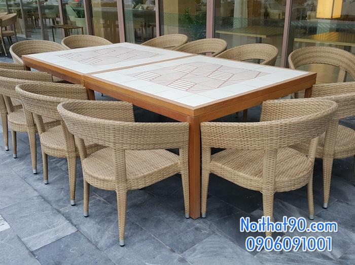 Bàn ghế nhà hàng, phòng ăn, khách sạn 2156