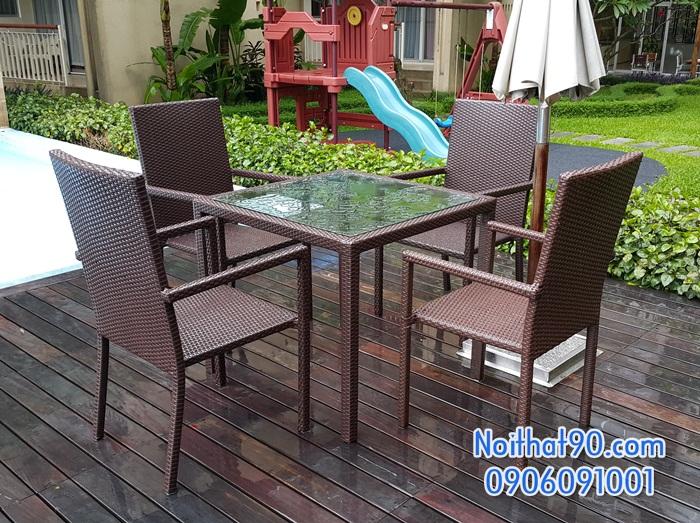 Bàn ghế nhà hàng, phòng ăn, khách sạn 3799