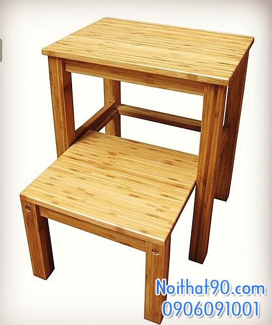 Bàn ghế tre 4052