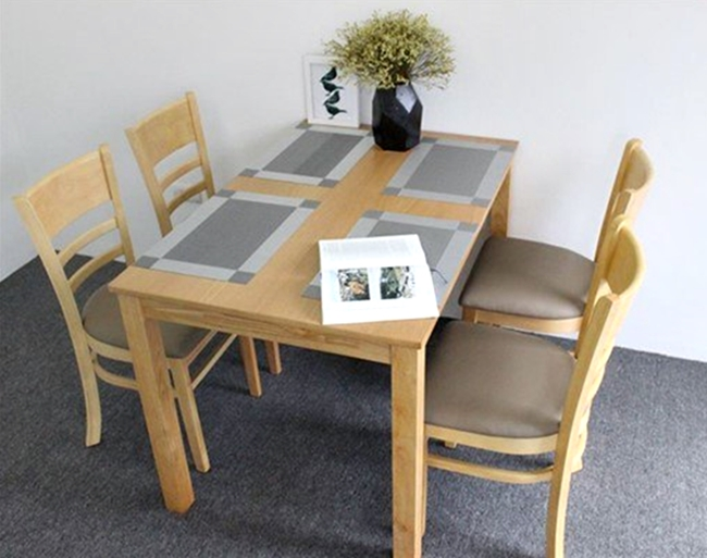 Bàn ghế cafe gỗ 1005