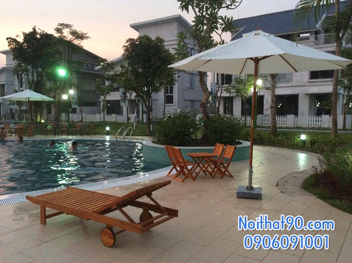 Giường bể bơi, bãi biển, ghế thư giãn 0925