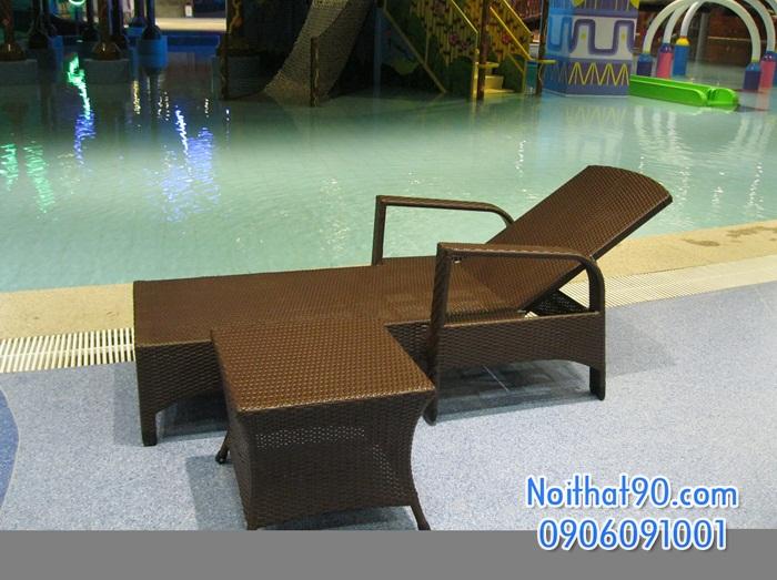 Giường bể bơi, bãi biển, ghế thư giãn 2369