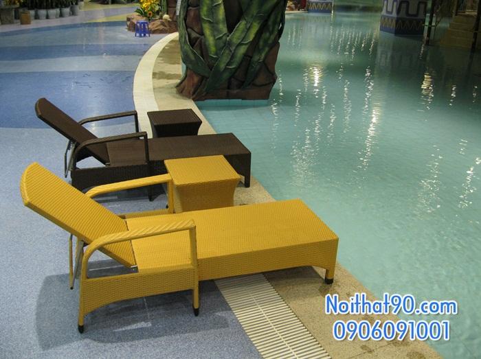 Giường bể bơi, bãi biển, ghế thư giãn 2379