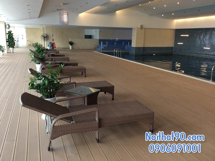 Giường bể bơi, bãi biển, ghế thư giãn 2486