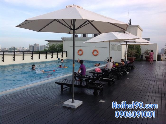 Giường bể bơi, bãi biển, ghế thư giãn 2541