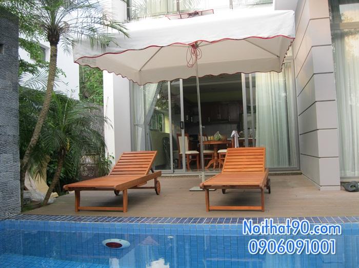 Giường bể bơi, bãi biển, ghế thư giãn 2606