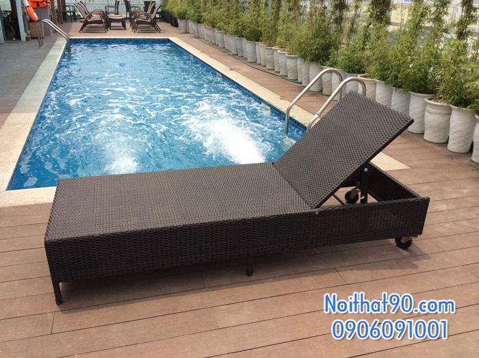 Giường bể bơi, bãi biển, ghế thư giãn 3415