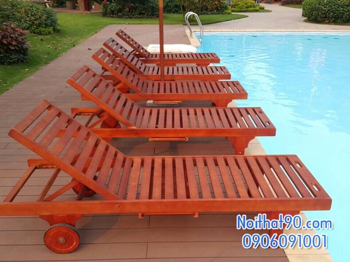 Giường bể bơi, bãi biển, ghế thư giãn 3529