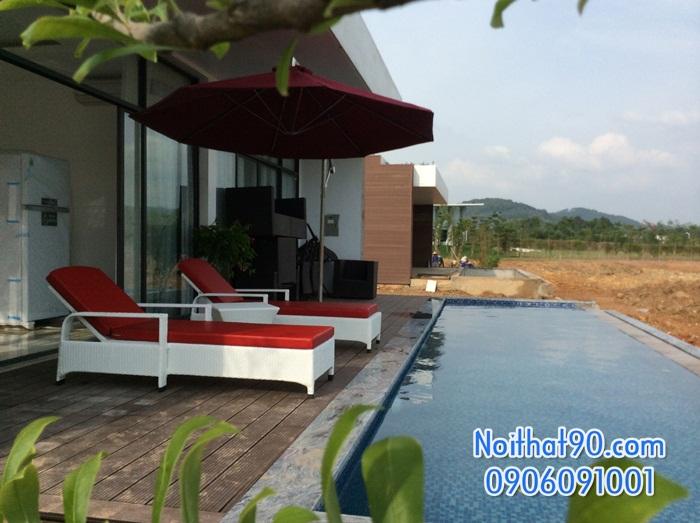 Giường bể bơi, bãi biển, ghế thư giãn 3606
